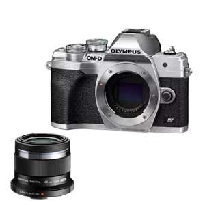 Olympus E‑M10 Mark IV Body + M.Zuiko Digital 45mm F1.8 for £630 delivered @ Olympus