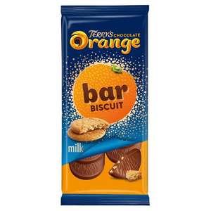 Terry's Orange & Orange Biscuit Bar 90g 75p @ Aldi (Dagenham)