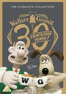Wallace And Gromit - The Complete Collection (DVD) £2.90 delivered @ mtentertainmentld / ebay
