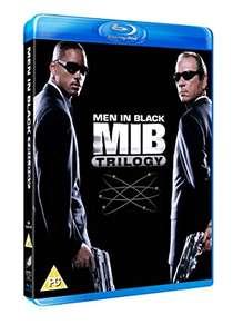 Men In Black Trilogy Blu-ray £4.03 / dvd £1.73 (+£2.99 non prime) @ Amazon