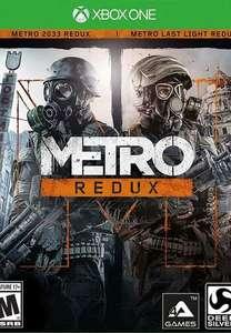 Metro Redux Bundle - Xbox One - Series S/X - Argentina via VPN - £2.97 using code @ Eneba/All For Gamers