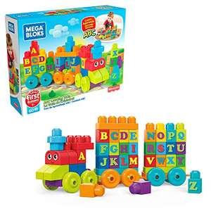 Mega Bloks Building Basics ABC Learning Train - £7.98 (+£4.49 Non-Prime) @ Amazon