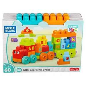 Mega Bloks Abc Learning Train £6.50 at Tesco (Clubcard Price)