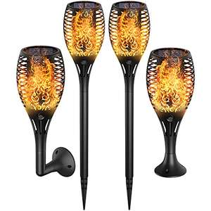 Ruyilam Solar Garden Lights Outdoor, 4-Pack Waterproof Solar Lights £16.99 Prime (+£4.49 Non Prime) Sold by Tigertooth & Fulfilled by Amazon