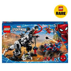 LEGO Marvel 76151 Spider-Man Venom Venomosaurus Ambush Set £59.99 / LEGO Super Mario 71376 Thwomp Drop Expansion Set £24.99 Smyths Toys