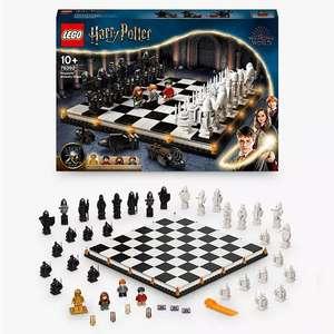 LEGO Harry Potter 76392 Hogwarts Wizard Chess £55.24 @ John Lewis & Partners