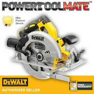 Dewalt DCS570N 18V XR 184mm Brushless Circular Saw (Body Only) - £144.49 Nectar / £152.99 Non Nectar with code @ Powertoolmate ebay