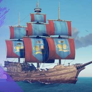 Sea of Thieves - Royal Sea Squirrel Sails Pack (Xbox / PC) Free @ Amazon Prime Gaming