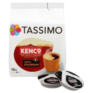 Tassimo Kenco Colombian 5 x 16 pack (80 drinks) £6.99 instore at Costco Warehouse Hayes