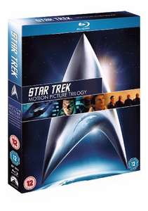 Star Trek: Motion Picture Trilogy Blu-ray (used) £4.94 delivered with code @ World of Books