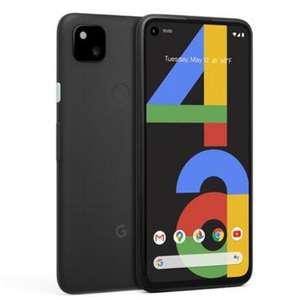 Google Pixel 4a 128GB - Black 4G OLED NFC 3.5mm Jack Smartphone + Free Case - £279 Delivered @ BT Shop