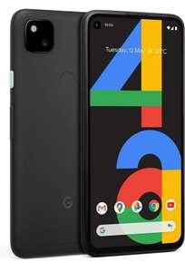 Google Pixel 4a 4G Mobile Phone SIM free Android Smartphone 128GB Just Black - £279 via Amazon