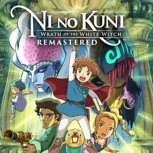 Ni no Kuni: Wrath of the White Witch Remastered (PS4) - £7.99 @ Playstation Network