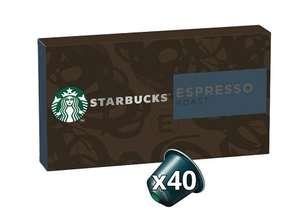 Pack of 40 Starbucks Nespresso pods £9 @ Waitrose & Partners