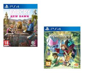 Far Cry New Dawn - £7.95 / Ni No Kuni Wrath of the White Witch Remastered (PS4) - £10.95 delivered @ The Game Collection