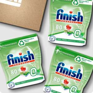 Finish Allin1 Max Eco Dishwasher Tablets x240 - £21.50 with code @ Finish Shop