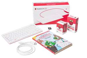 Raspberry Pi 400 All-in-One Personal Computer Kit – UK Keyboard Layout £81.68 @ OKdo