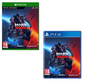 Mass Effect Legendary Edition (Xbox One I Series X) - £29.97 / (PS4) - £32.99 delivered Using Code @ Currys & PCWorld