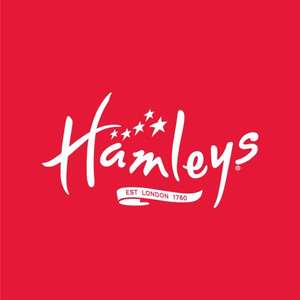 15% off a £50 spend, using discount code (Includes Lego) @ Hamleys