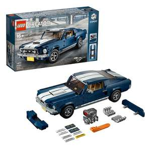 LEGO Creator Expert 10265 Ford Mustang - £96.89 / 10255 Assembly Square - £160.65 / 75192 Millennium Falcon £552.50 with code @ Hamleys