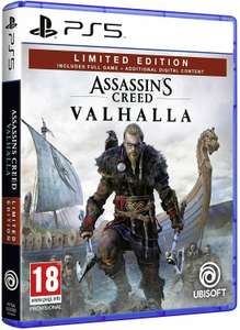 Brand New Assassins Creed Valhalla (PS5) Limited Edition £28.04 Nectar / £29.69 Non Nectar @ eBay mobiledealsuk