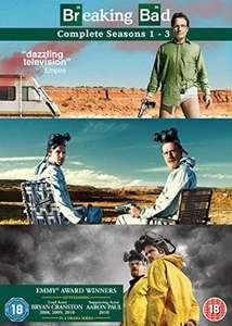 Breaking Bad - Seasons 1-3 dvd £2.26 delivered @ Rarewaves