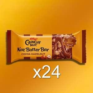 24 Kellogg's Crunchy Nut Cocoa Hazelnut Nut Butter 45g Bars - Gluten Free - £10 Delivered @ Yankee Bundles