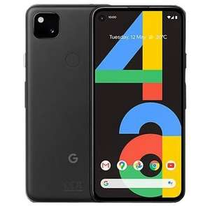 Google Pixel 4a Just Black 128GB Refurbished Smartphone - Excellent Condition - £209.99 / Pristine - £239.99 With Code @ 4gadgets