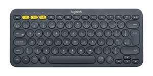 Logitech K380 Wireless Multi-Device Keyboard - QWERTY design - Black £26 (Clubcard price) @ Tesco (Sunbury)