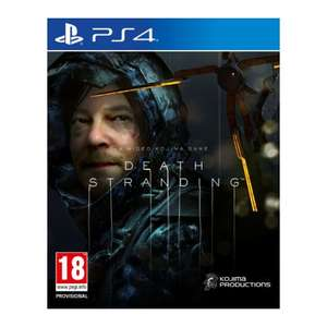 Death Stranding (PS4 Disc Copy - PS5 upgrade via PS Store for extra £10) - £15.95 with Free Shipping @ TheGameCollection