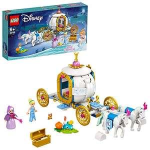 LEGO Disney Princess 43192 Cinderella's Royal Carriage £21.47 delivered at Amazon Italy