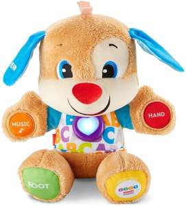 Fisher-Price FPM43 Smart Stages Puppy, Laugh and Learn Soft Educational Electronic £10 @ Amazon (£4.49 p&p non-Prime)