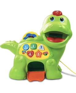 VTech Baby Feed Me Dino Musical Baby Toy £14.50 (+£4.49 nonPrime) Amazon
