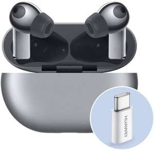 Used very good - Huawei FreeBuds Pro with AP52 Adapter 3 Microphone Wireless Charging Silver £47.48 (UK Mainland) Amazon Warehouse France