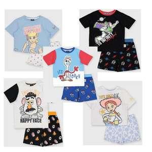 Disney Toy Story Shortie Pyjamas Bo Peep, Buzz Lightyear, Mr Potato Head, Forky & Jessy now all £5.00 with Free click and collect From Argos