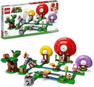 LEGO Super Mario 71368 Toad's Treasure Hunt Expansion Set - £38.95 @ Amazon