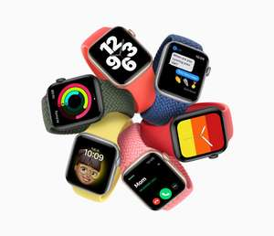 Apple Watch SE 40mm Smartwatch GPS All Colours - £249 | 44mm - £279 Delivered @ John Lewis & Partners