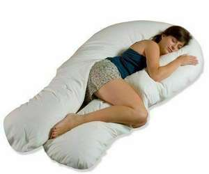 9Ft/12Ft U Pillow Maternity Pregnancy Support Full Body/Bolster + Free Case £10.25 / £11.25 delivered @ bargains-store21 / ebay