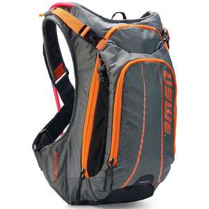 Uswe Airborne 9 2020 Grey/orange 9L daypack with 2.5 litre hydration system £71.99 delivered from Je James cycles