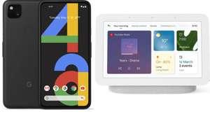 Google Pixel 4a - 128 GB, Just Black + Google Nest Hub (2nd Gen) Smart Display - £279 delivered @ Currys PC World