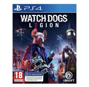 Watch Dogs: Legion [PS4 with Free PS5 Upgrade] - £15 with Free Shipping and PriceMatch Promise @ ao.com (UK Mainland)