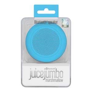 Juice jumbo marshmallow bluetooth speaker aqua £6 instore @ Sainsburys Chichester
