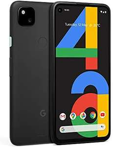 Google Pixel 4a 4G Mobile Phone SIM free Android Smartphone 128GB Just Black used very good - £187 @ Amazon