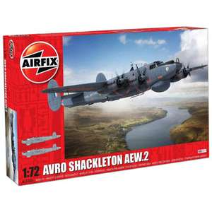 Airfix Avro Shackleton AEW.2 1:72 Scale Model Set £26.99 (Free click and collect) @ The Works