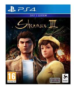 Shenmue 3 £4.99 @ game instore Dundee or £9.99 online