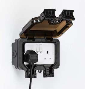 Smart WiFi Waterproof Outdoor Double Socket £23.76 - Used - Very Good £23.76 via Amazon Warehouse