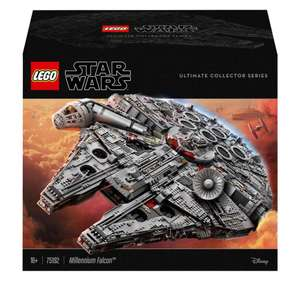 LEGO Star Wars Millennium Falcon Collector Series Set (75192) £519.99 delivered with code @ Zavvi
