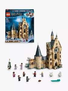 LEGO Star Wars 75302 Imperial Shuttle £46.49/LEGO Harry Potter 75948 Hogwarts Castle Clock Tower £56.49 at John Lewis & Partners