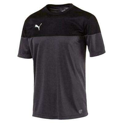 Puma Mens Football Training Shirt Grey/Black XS (40 - 42) £7.99 delivered @ allsports-superstore / ebay - hotukdeals