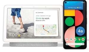 Google Pixel 4a 128GB Smartphone + Google Nest Hub 2nd Gen - £279 (£267 With Topcashback) Delivered @ Carphone Warehouse